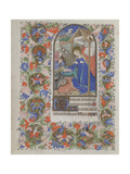 Nativity (Book of Hour), 1440-1460 Giclee Print