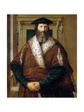 Portrait of a Man (Malatesta Baglion), C.1535 Giclee Print by  Parmigianino