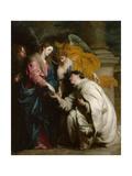 The Vision of the Blessed Hermann Joseph, 1630 Giclée-Druck von Sir Anthony Van Dyck