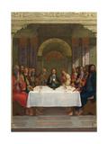 The Institution of the Eucharist, C.1490-1495 Lámina giclée por Ercole de' Roberti