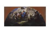 Try of Christ into Jerusalem, 1876 Giclée-tryk af Henryk Siemiradzki