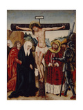 The Crucifixion, Early16th C Giclee Print