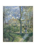 The Path to Les Pouilleux, Pontoise, 1881 Reproduction procédé giclée par Camille Pissarro