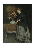 Autumn Flowers, 1867 Giclee Print by Alfred Stevens