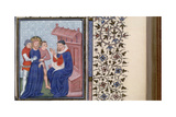 Christ before Pilate (Book of Hour), 1400S Gicléetryck