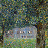 Farm House in Buchberg, 1911 Impressão giclée por Gustav Klimt