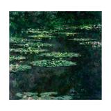 The Water Lilies (Les Nymphéa) Giclée-Druck von Claude Monet