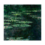 The Water Lilies (Les Nymphéa) Giclee Print by Claude Monet