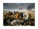 Napoleon on the Battlefield of Eylau, 1807 Giclee Print by Antoine-Jean Gros