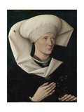 Portrait of a Woman of the Hofer Family, Ca 1470 Giclee Print