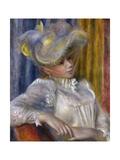 Woman with a Hat (Femme Au Chapea), 1891 Giclee Print by Pierre-Auguste Renoir