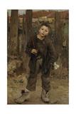 Pas Mèche (Nothing Doin), 1882 Giclée-vedos tekijänä Jules Bastien-Lepage