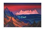 Song of Shambhala, 1943 Lámina giclée por Nicholas Roerich