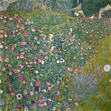 Italian Horticultural Landscape, 1913 Giclee Print by Gustav Klimt