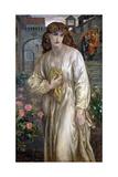Salutation of Beatrice, 1880-1882 Giclee-trykk av Dante Gabriel Rossetti