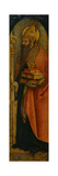 Saint Augustine, 1480S Giclée-vedos tekijänä Carlo Crivelli