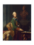 Portrait of Count Zakhar Chernyshov, Ca 1776 Giclee Print by Alexander Roslin