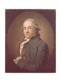 Portrait of Christian Friedrich Voss (1724-179) Giclée-tryk af Anton Graff