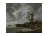 The Mill at Wijk Bij Duurstede, C. 1670 Stampa giclée di Jacob Isaacksz Van Ruisdael