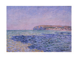 Shadows on the Sea, the Cliffs at Pourville, 1882 Giclée-Druck von Claude Monet