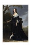 Elizabeth Stuart (1596-166), Queen of Bohemia, 1642 Lámina giclée por Gerrit van Honthorst