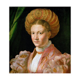 Portrait of a Young Lady, Ca 1530 Giclee Print by  Parmigianino
