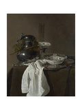 Still Life with a Pewter Flagon and Two Ming Bowls, 1651 Lámina giclée por Jan Jansz Treck