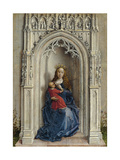 The Virgin and Child Enthroned, Ca. 1433 Reproduction procédé giclée par Rogier van der Weyden