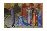 The Beheading of Saint Margaret, C.1410 Giclée-tryk af Gherardo Starnina
