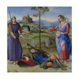 An Allegory (Vision of a Knigh), C. 1504 Reproduction procédé giclée par  Raphael