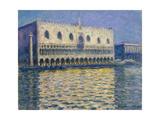 The Doges Palace (Le Palais Duca), 1908 Giclée-tryk af Claude Monet