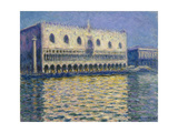 The Doges Palace (Le Palais Duca), 1908 Giclee Print by Claude Monet