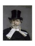 Portrait of Giuseppe Verdi, 1886 Giclée-tryk af Giovanni Boldini