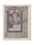 Gnadenstuhl (Book of Hour), 1440-1460 Giclee Print
