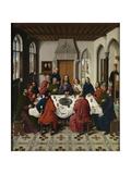 The Last Supper Altarpiece (Central Pane), 1464-1468 Lámina giclée por Dirk Bouts
