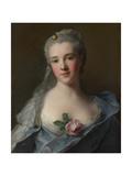Portrait of Manon Balletti, 1757 Giclee Print by Jean-Marc Nattier