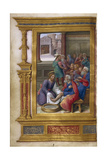 Christ Washing the Feet of the Apostles, 1500-1550 Gicléetryck