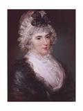 Portrait of Mrs Janet Grizel, 1794 Giclee Print by John Russell