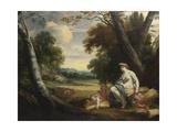 Ceres and Harvesting Cupids, C. 1635 Giclée-Druck von Simon Vouet