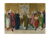 The Presentation in the Temple, Ca 1470 Giclee Print