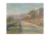 Road of La Roche-Guyon, 1880 Giclée-Druck von Claude Monet