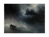 Rage of Elements Giclée-tryk af Ivan Konstantinovich Aivazovsky