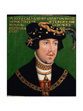 King Louis II of Hungary, Ca 1522 Giclee Print by Hans Krell