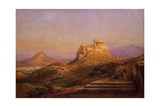 View of the Acropolis from the Pnyx, 1863 Giclée-tryk af Rudolf Müller