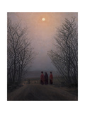 Easter Morning, Between 1828 and 1835 Giclee Print by Caspar David Friedrich