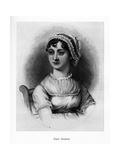 Jane Austen, English Novelist, 19th Century Giclée-Druck