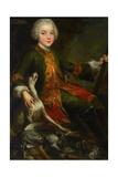 Portrait of Józef Sapieha (1737-179), C. 1740 Giclée-tryk af Augustyn Mirys
