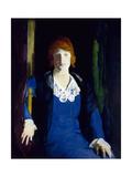 Portrait of Florence Pierce, 1914 Giclee-trykk av George Bellows