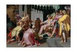 Joseph and His Brothers, 1595-1600 Lámina giclée por Abraham Bloemaert