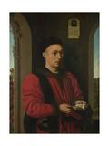 Portrait of a Young Man, 1450-1460 Lámina giclée por Petrus Christus